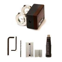 """Model 9090-DAT 1/2"""" 1-90 SCFM Digital Flowmeter with Data Logger with Drill Guide Kit"""