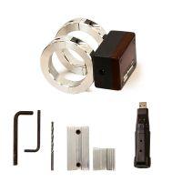 """Model 9094-DAT 1-1/2"""" 2-200 SCFM Digital Flowmeter with Data Logger with Drill Guide Kit"""