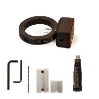 """Model 9096-DAT 2-1/2"""" 5-500 SCFM Digital Flowmeter with Data Logger with Drill Guide Kit"""