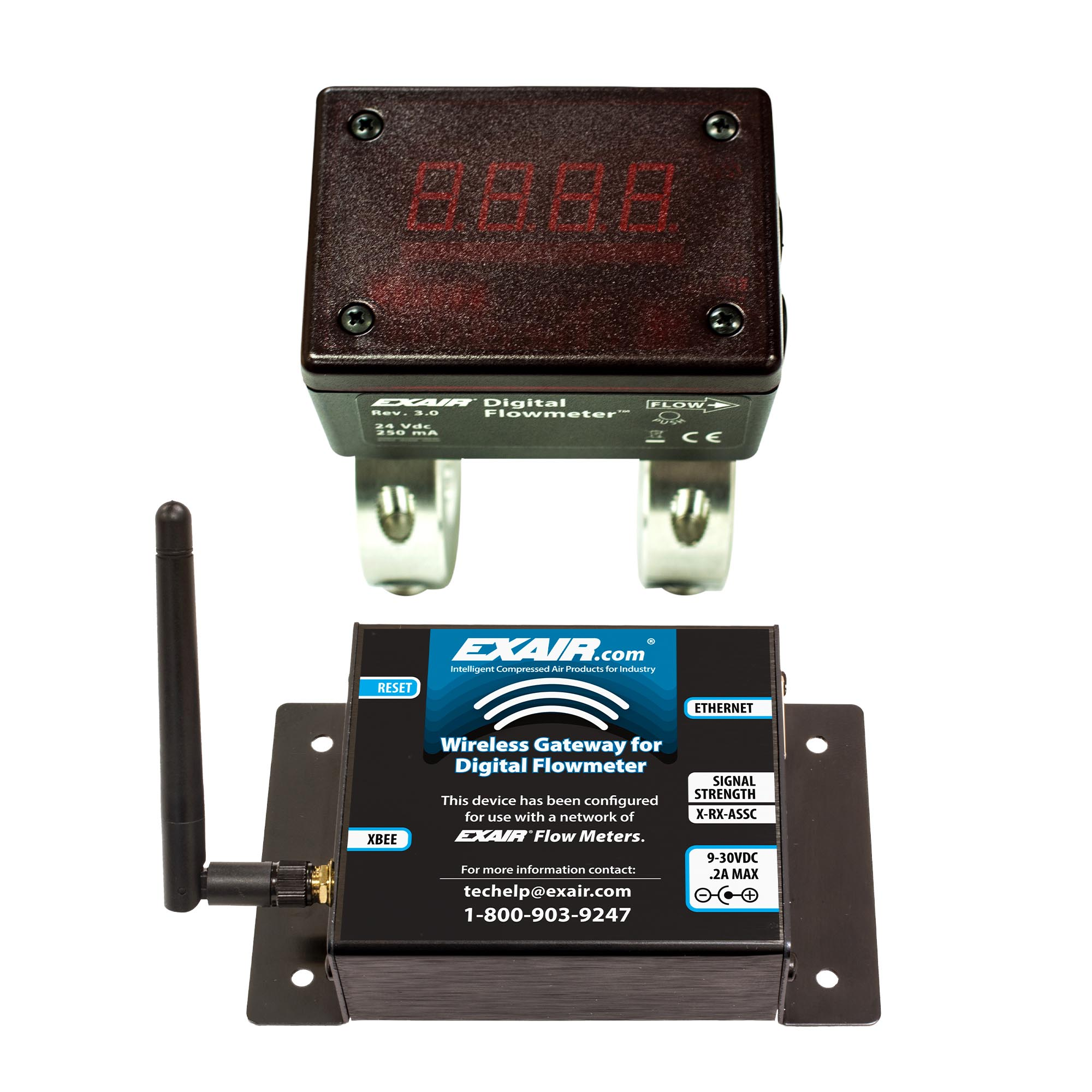 Digital Flowmeter and Wireless Gateway