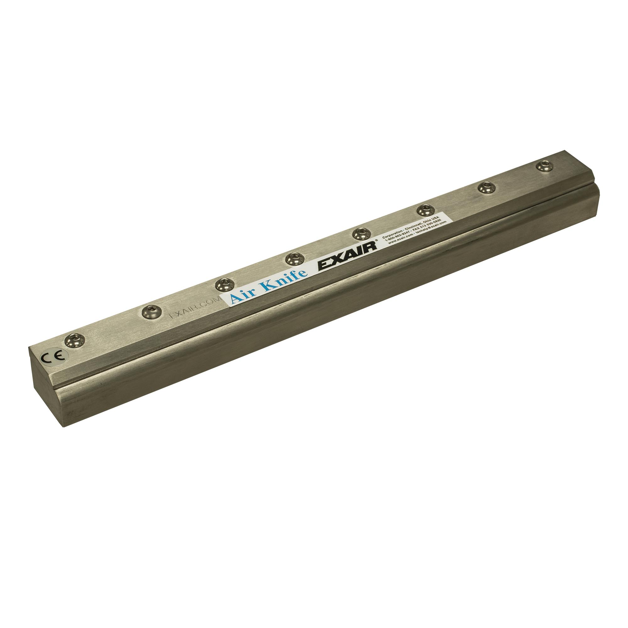Aluminum Full-Flow Air Knife