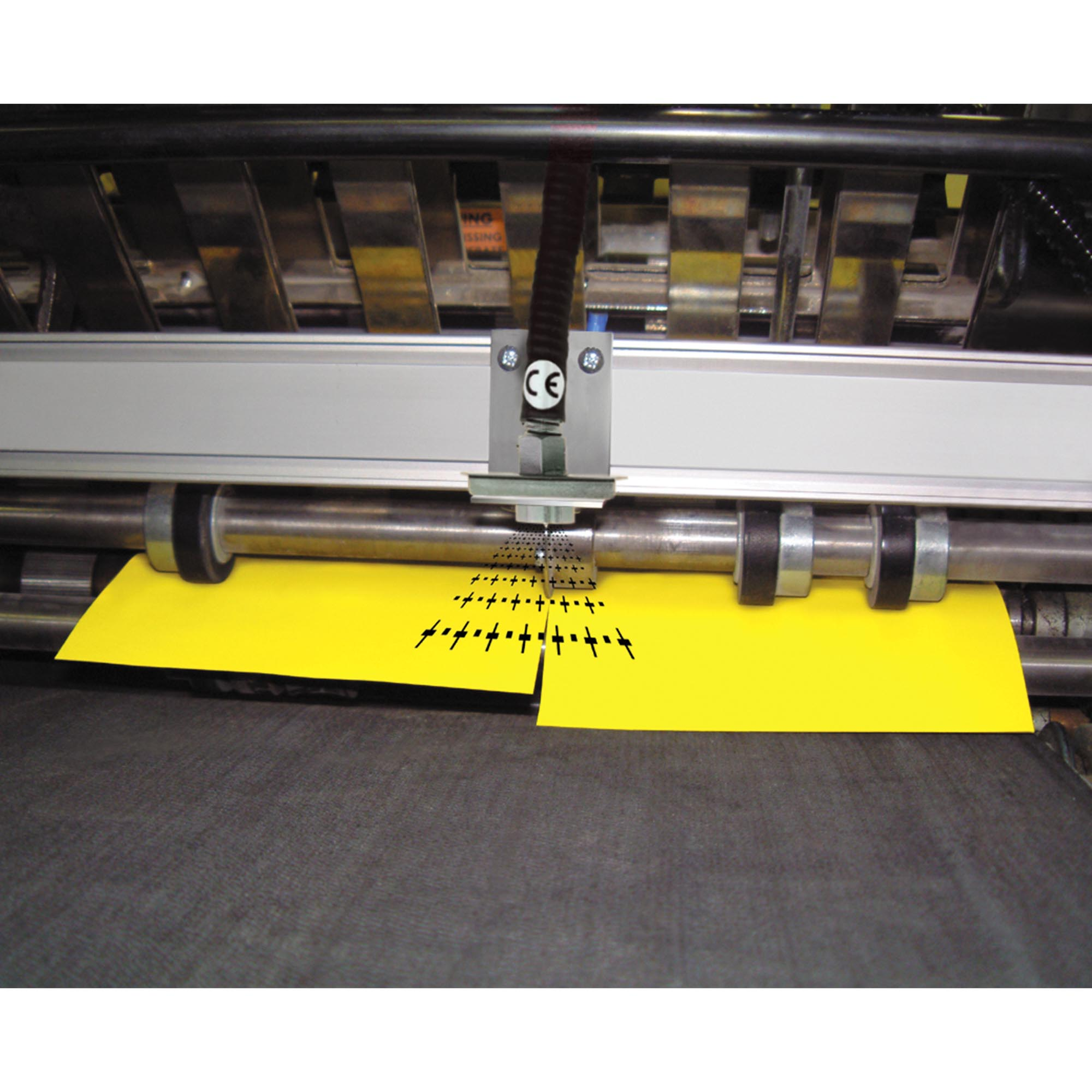 This Gen4 Ionizing Point removes static from a paper slitting operation.