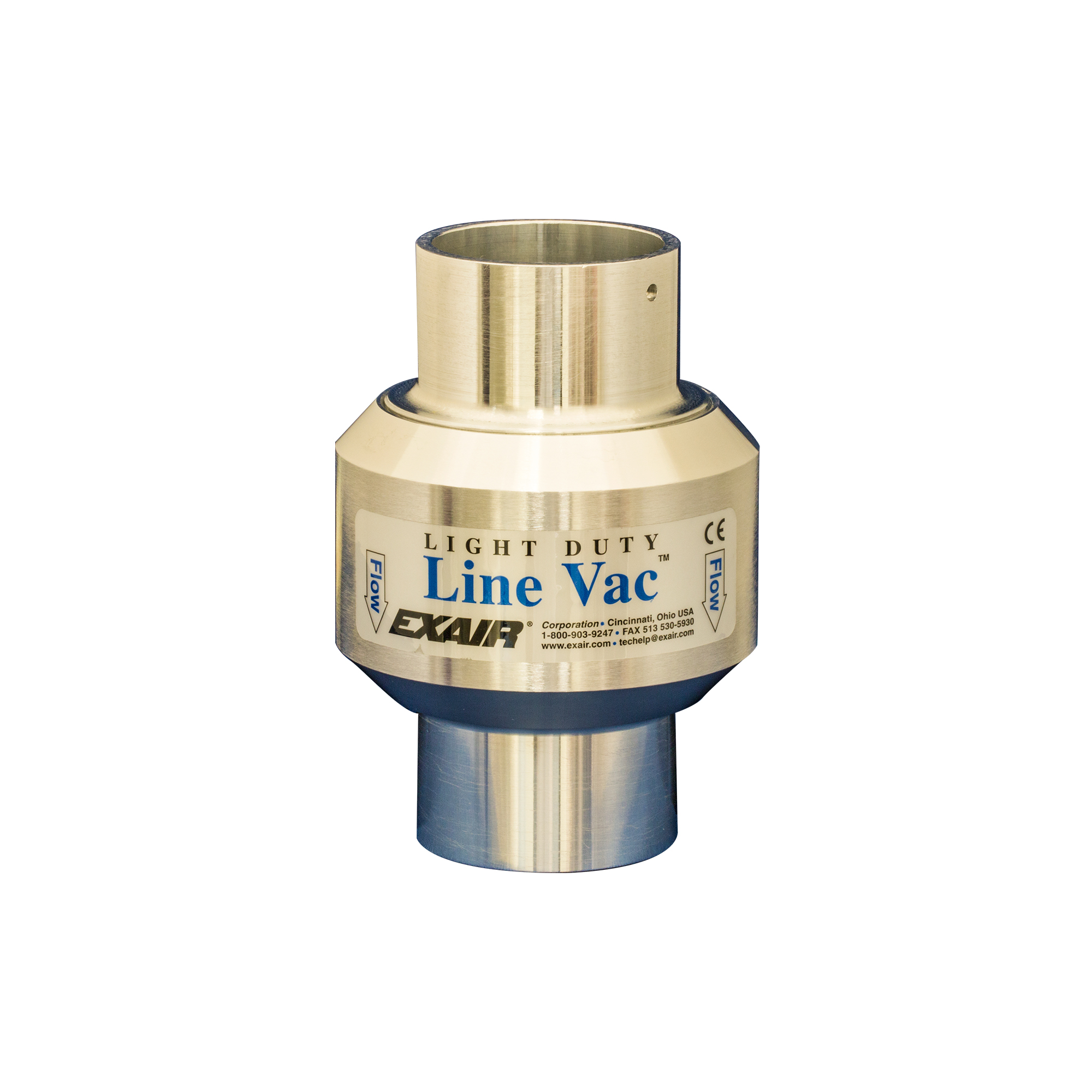 Light Duty Line Vacs are an effective way to convey small volumes of material over short distances.