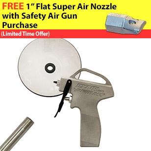 Variblast Compact Safety Air Gun with Chip Shield