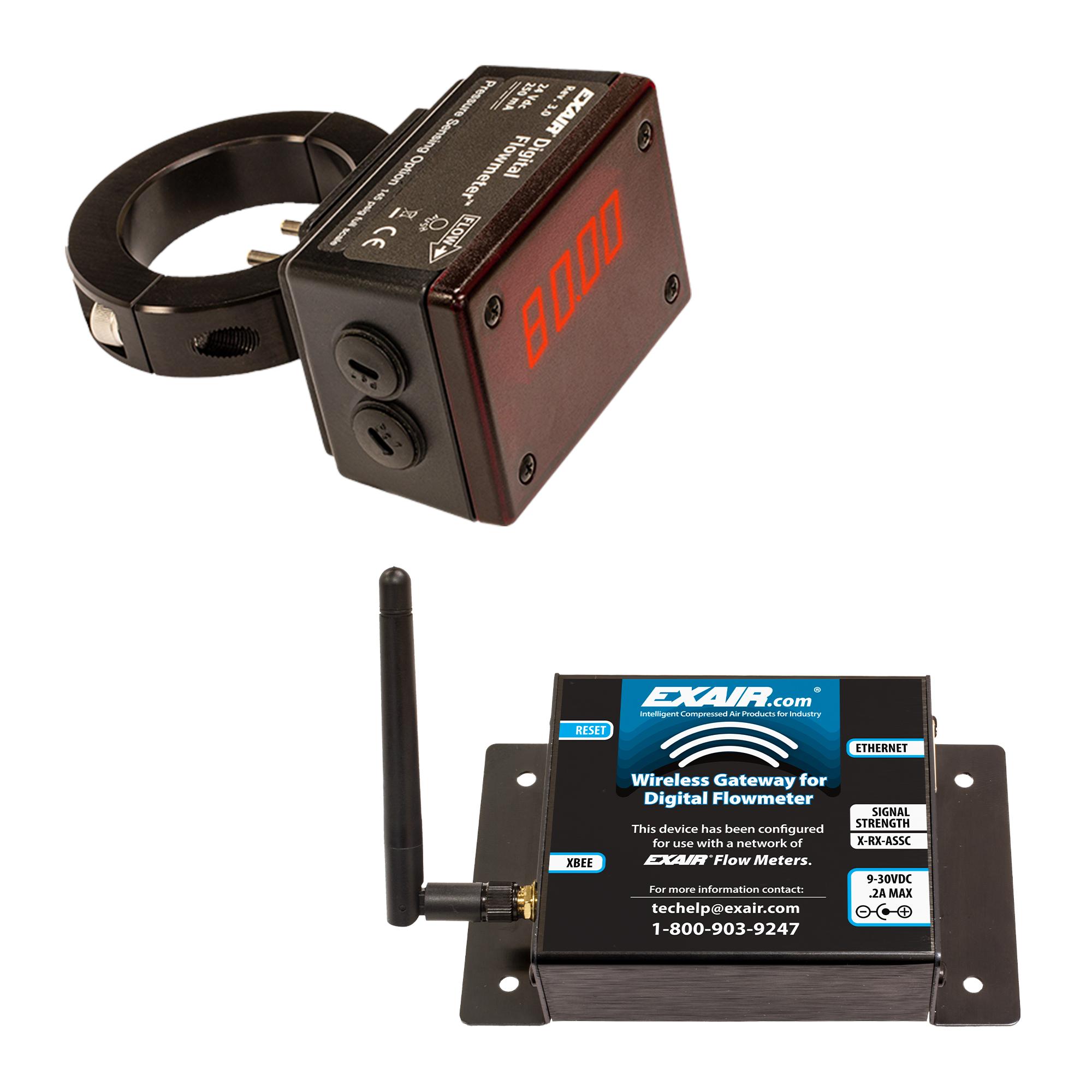Pressure Sensing Digital Flowmeter and Wireless Gateway