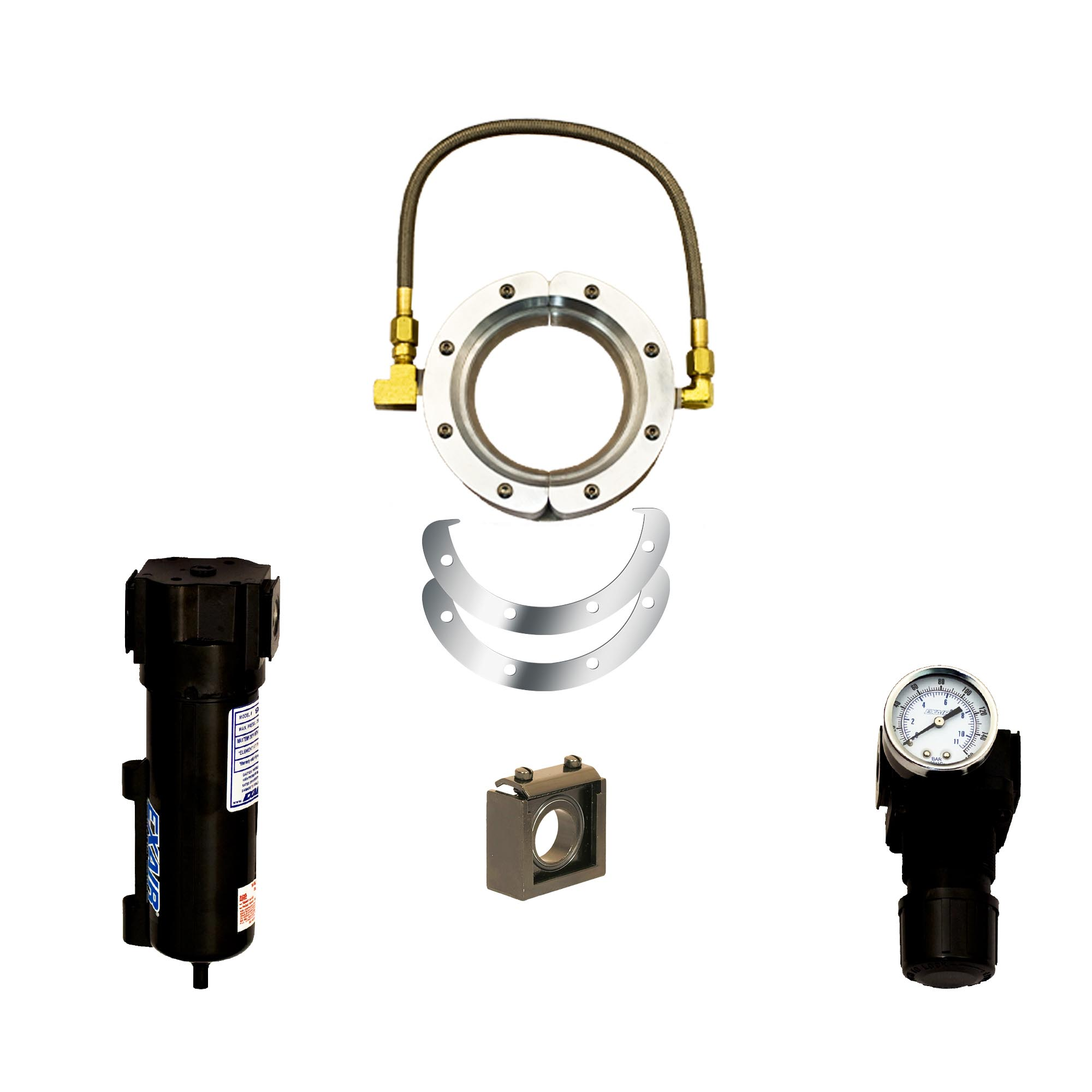 Aluminum Super Air Wipe Kit