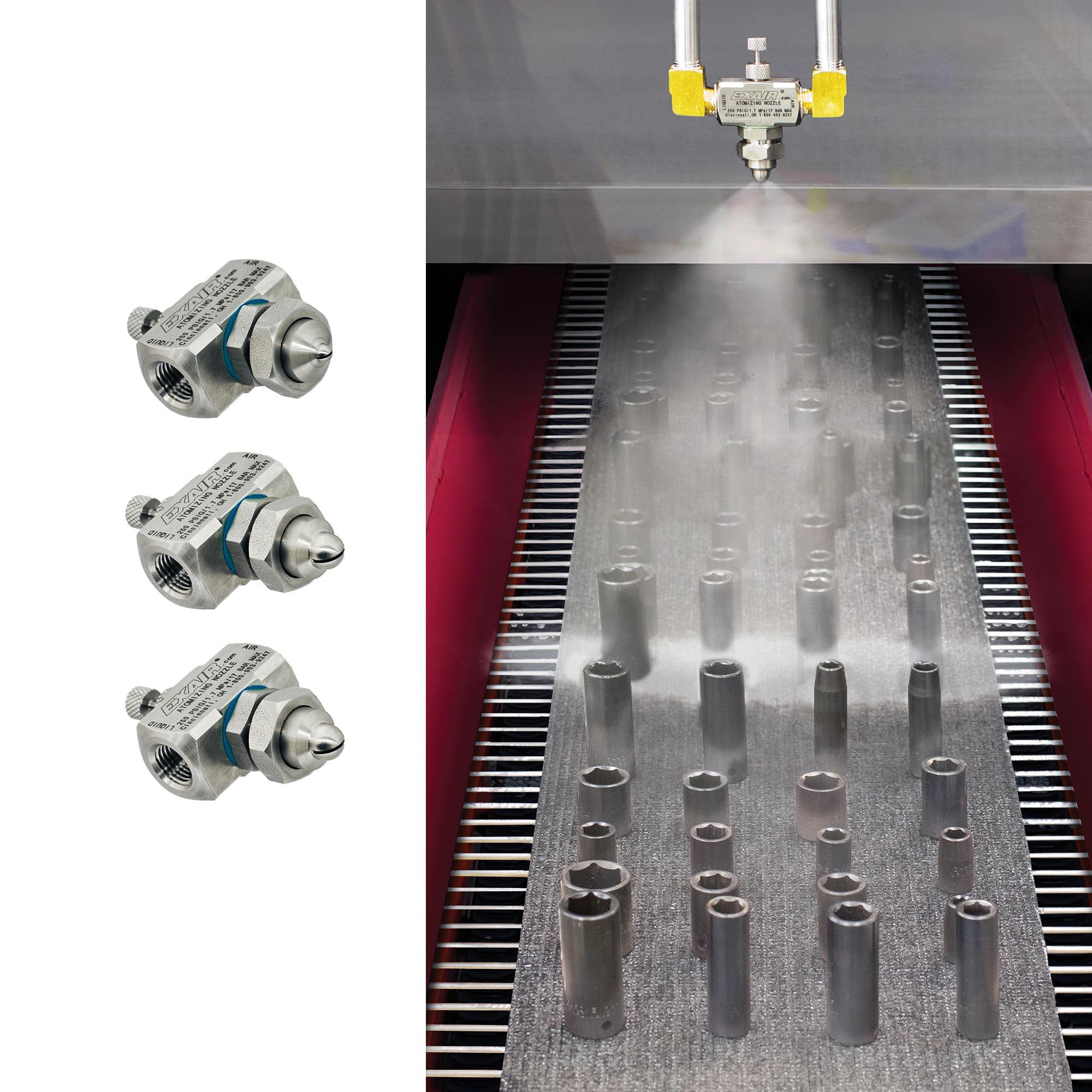Siphon Fed Liquid Atomizing Nozzles