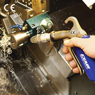 The Model 1210-CS Soft Grip Safety Air Gun keeps a drilling process free of machined spirals.