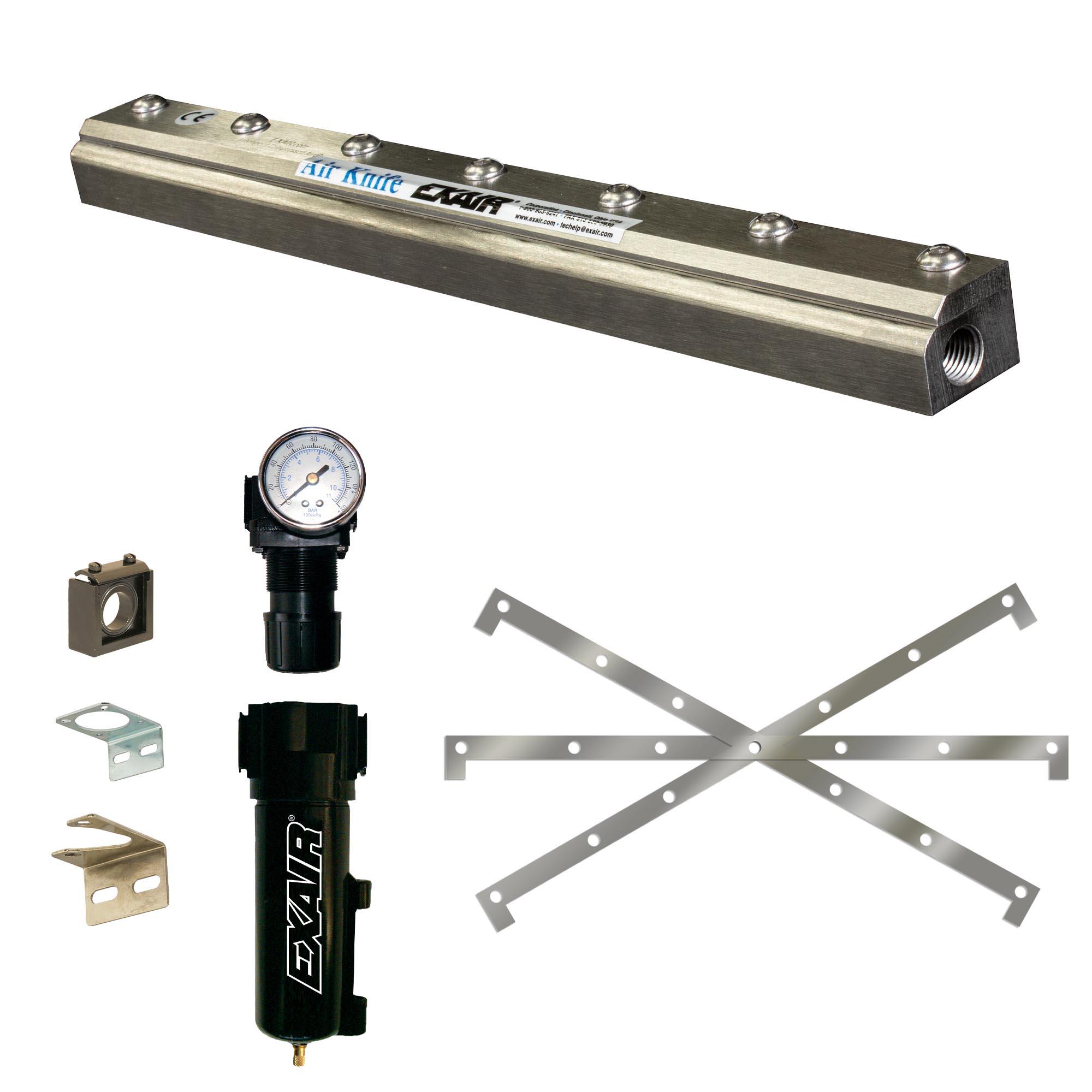 Stainless Steel Standard Air Knife Kit