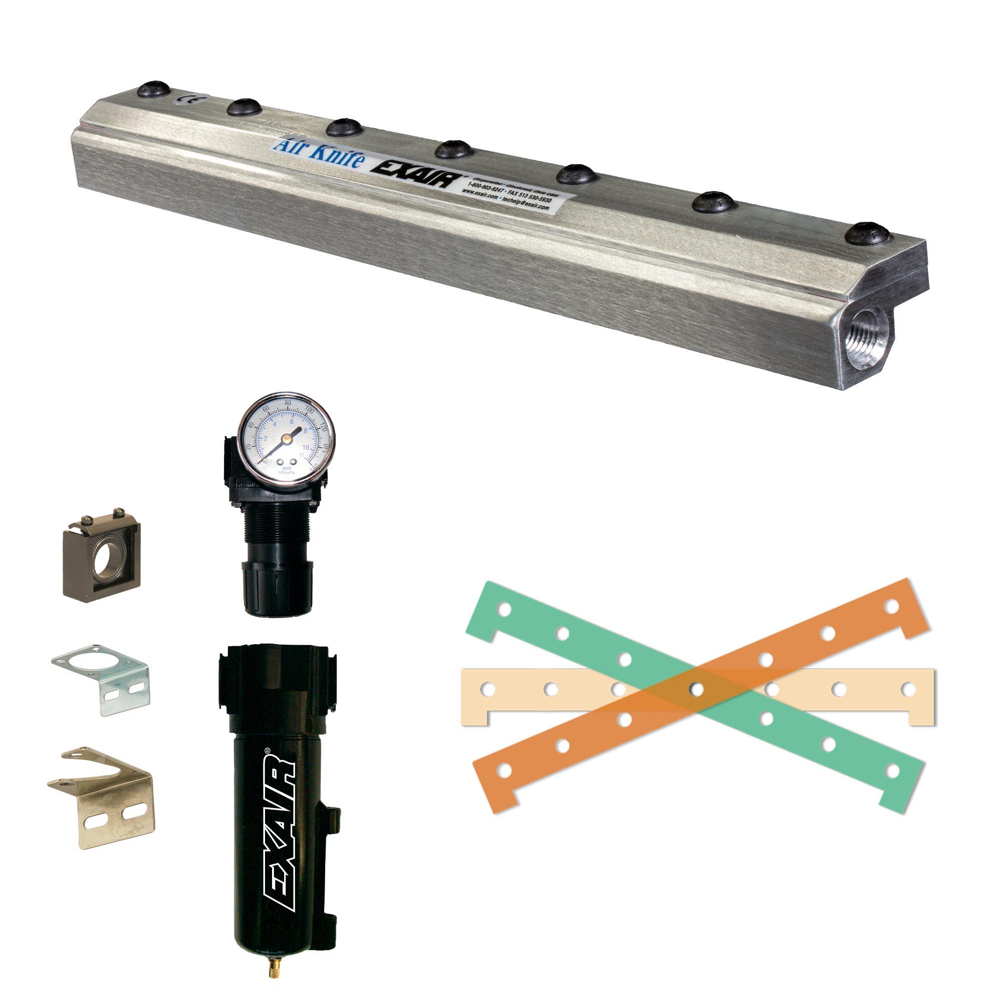 Aluminum Standard Air Knife Kit