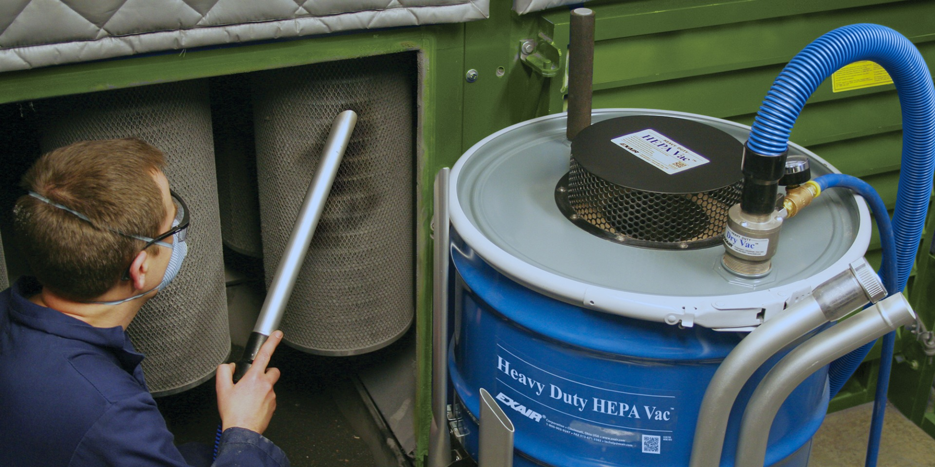 Heavy Duty HEPA Vac