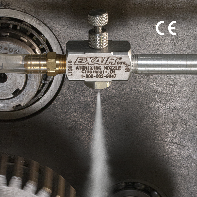 1/8 NPT Siphon Fed Spray Nozzles for Non-Pressurized Liquids