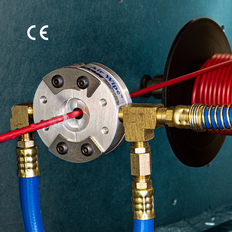3/8″ Standard Air Wipe Dries, Cools & Cleans Small Diameters