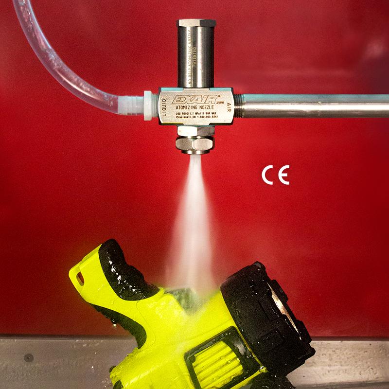 No Drip Siphon Fed Spray Nozzle