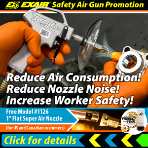EXAIR's Safety Air Gun Promotion